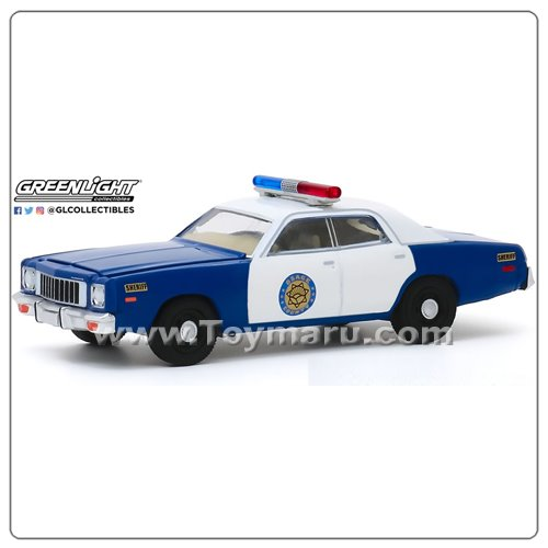 GREENLIGHT 1/64 1975 Plymouth Fury - Osage County Sheriff